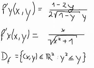 Partielle Ableitung Berechnen : definitionsbereich partielle ableitungen mit ~ Themetempest.com Abrechnung