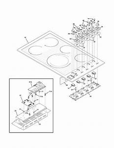 Kenmore Pro 79040563800 Electric Cooktop Parts