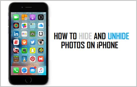 how to hide photos iphone how to hide and unhide photos on iphone in ios 9