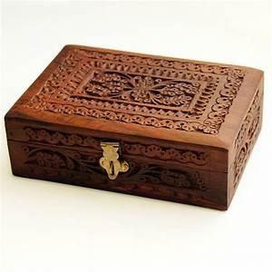 Coffret A Bijoux : coffret en bois indien pankaj boutique vente sur internet de produits indiens ~ Teatrodelosmanantiales.com Idées de Décoration