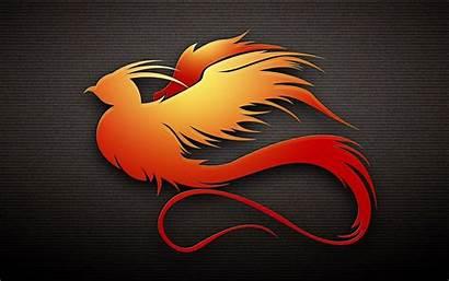 Phoenix Bird Wallpapers Vector Background Wallpapersafari Cave