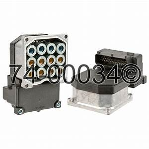 2000 Cadillac Catera Abs Control Module From Car Parts