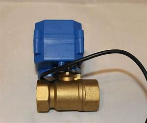 24v Actuator Ball Valve Brass 3  4 U0026 39  U0026 39   Dn20  Electric Shut Off Valve  3 Wires  Cr03 Wiring  For