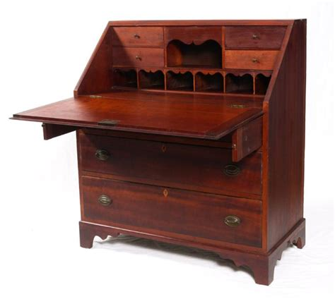 governor winthrop desk value cherry slant front desk
