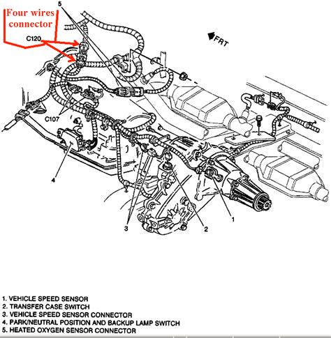 94 Chevy 1500 Transfer Wiring Diagram by I Am Trying To Follow Tsb 76 43 01a To Install The Newer