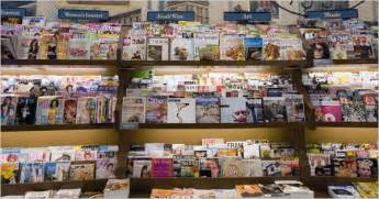 Barnes And Nobles Magazines by Magazines Newsstand Sales Fall Dragging Circulation