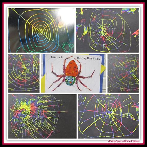 preschool spider art www rainbowswithinreach 298