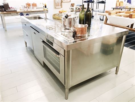 steel kitchen island all in one kitchen island cococozy 2503