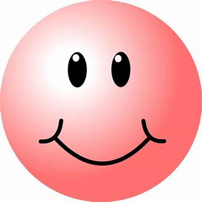 Face Smiley Pink Clip Happy Faces Vector