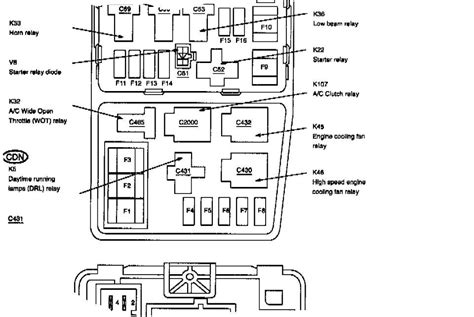 2000 Ford Contour Radio Wire Diagram by 1999 Ford Contour Engine Diagram Downloaddescargar