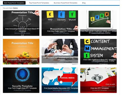 great powerpoint templates 10 great resources to find great powerpoint templates for free