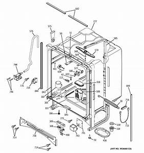 Ge Potscrubber Dishwasher Parts Diagram