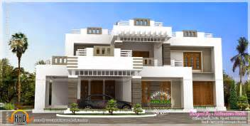 Home Design Gallery - 5 bhk contemporary style house exterior home kerala plans