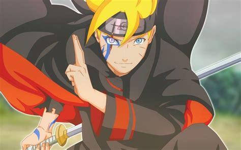 Blonde, Anime Boy, Boruto Uzumaki Wallpaper