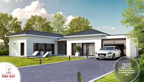 plan maison 150m2 4 chambres maison contemporaine plain pied modèle harmonie