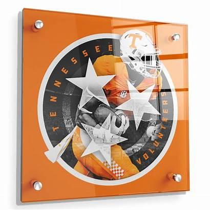 Tennessee Tri Star Orange Volunteers Wall Vols