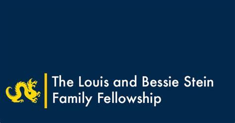 louis bessie stein family fellowship global engagement