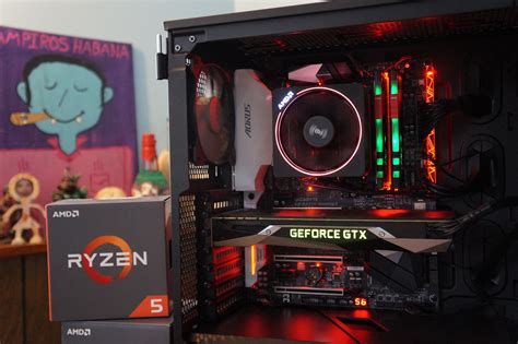 komputer gamer ryzen 5 1600x building a versatile work and play pc with