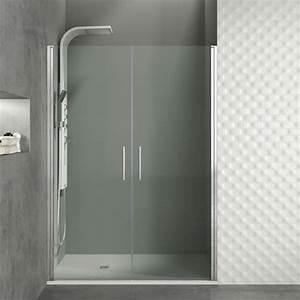 Paroi Vitrée Douche : paroi de douche pivotante avec 2 portes pas ch re et sur ~ Zukunftsfamilie.com Idées de Décoration