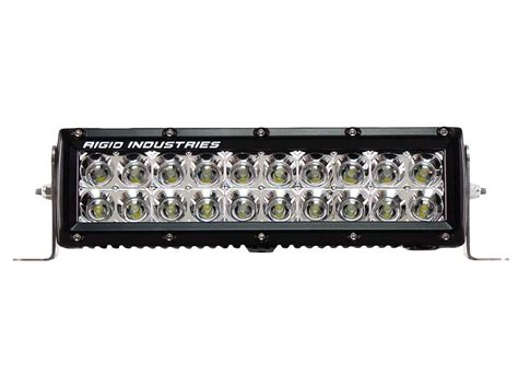 rigid industries 10 quot e series white flood led light bar
