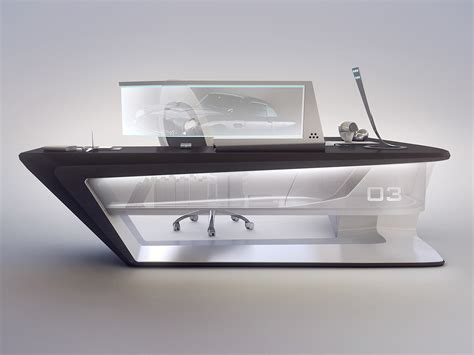 modern reception desk design modern desk design on behance black and white