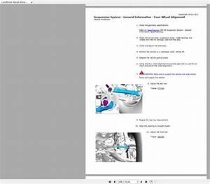 Landrover Ranger Rover 2018 Full Service Manual  Wiring