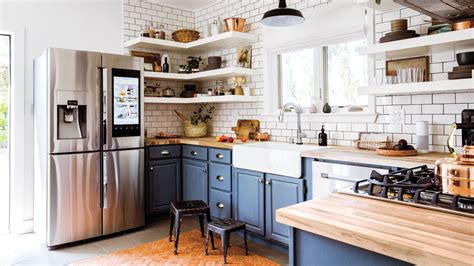 copper kitchen cabinets how to give a cottage a smart home makeover sunset 2578