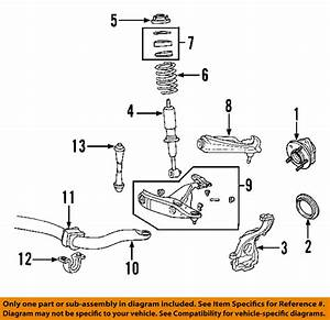 Ford Oem Stabilizer Sway Bar