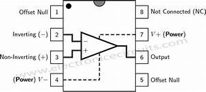 automatic gain control pre amplifier circuit diagram With 741 op amp diagram