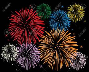 Red Fireworks Clipart (51+)