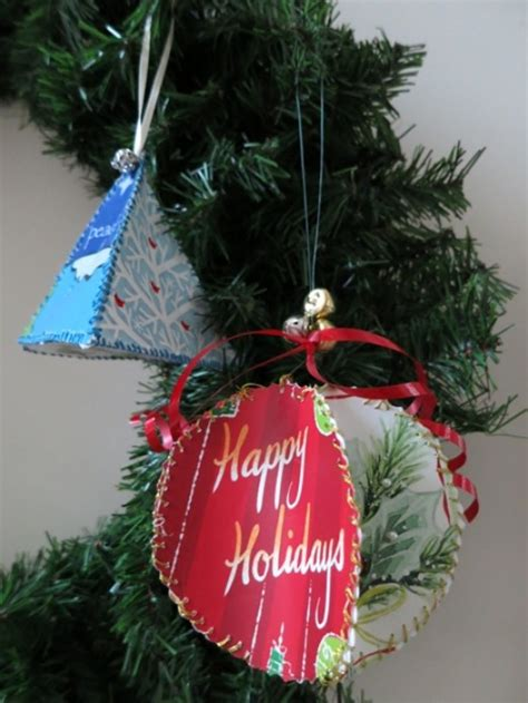 diy craft decoration how to make christmas ornaments from