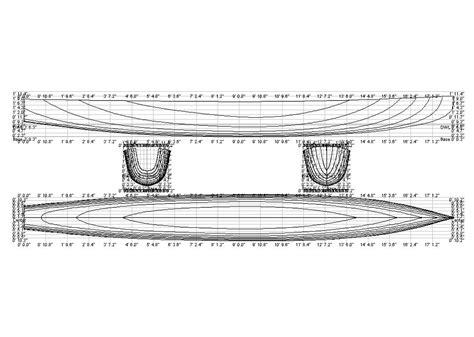diy canoe plans blueprints wooden  campaign lap desk