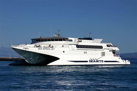 Greece Catamaran Ferry by Sea Jets Tickets High Speed Greek Ferry Around The