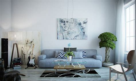 light blue couch living room how to decorate your home with color pairs