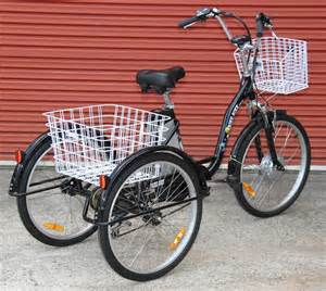 3 Wheel Electric Tricycle Bike