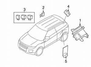 2014 Land Rover Range Rover Evoque Liftgate Control Module