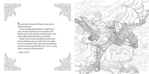 throne  glass coloring book  sarah  maas