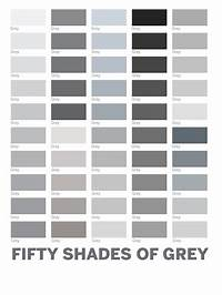shades of grey color color gray 50 shades - Google Search | Perfect Paint Colors | Pinterest