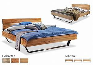 Moderne Betten 140x200 : massivholzbett modern sleep d online bestellen ~ Markanthonyermac.com Haus und Dekorationen