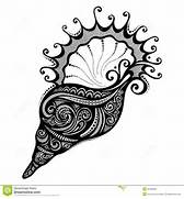 Vector Abstract Sea Shell Royalty Free Stock Images - Image: 36236589