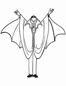 Dessin Halloween Vampire : coloriage dessin de vampire couleur dessin gratuit imprimer ~ Carolinahurricanesstore.com Idées de Décoration