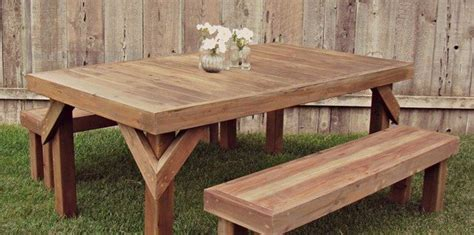 picnic table plans woodwork city  woodworking plans