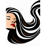 Clipart Beauty Icon Cosmetology Transparent Woman Openclipart