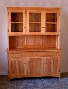China Cabinet Hutch by Cherry Quot Shaker Quot Hutch Boulder Furniture Arts