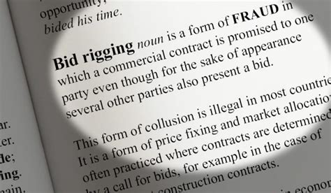 Bid Rigging Bid Rigging The New Ticking Time Bomb For The Advertising