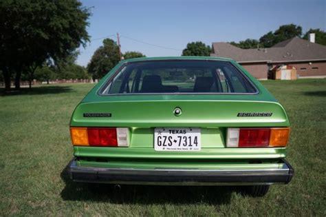 1976 Volkswagen Vw Scirocco Type 53 Viper Green 23,000
