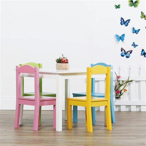 tot tutors pastel 5 table and chair set tc714