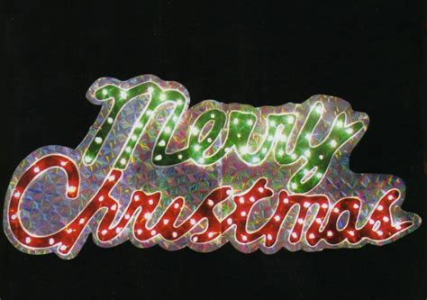merry christmas light signs 46 quot 100 lights 2d merry sign decoration new ebay