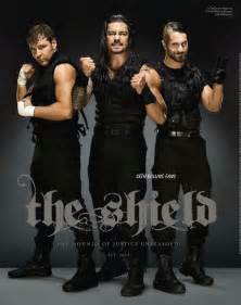 The Shield 2014 WWE Magazine