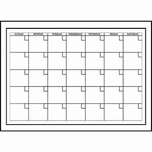 whiteboard monthly calendar calendar sticker calendar With vinyl calendar template